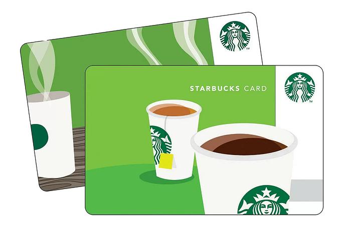Free $5 Starbucks Bonus with $20 Gift Card Purchase